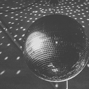 Large Glass Disco Ball